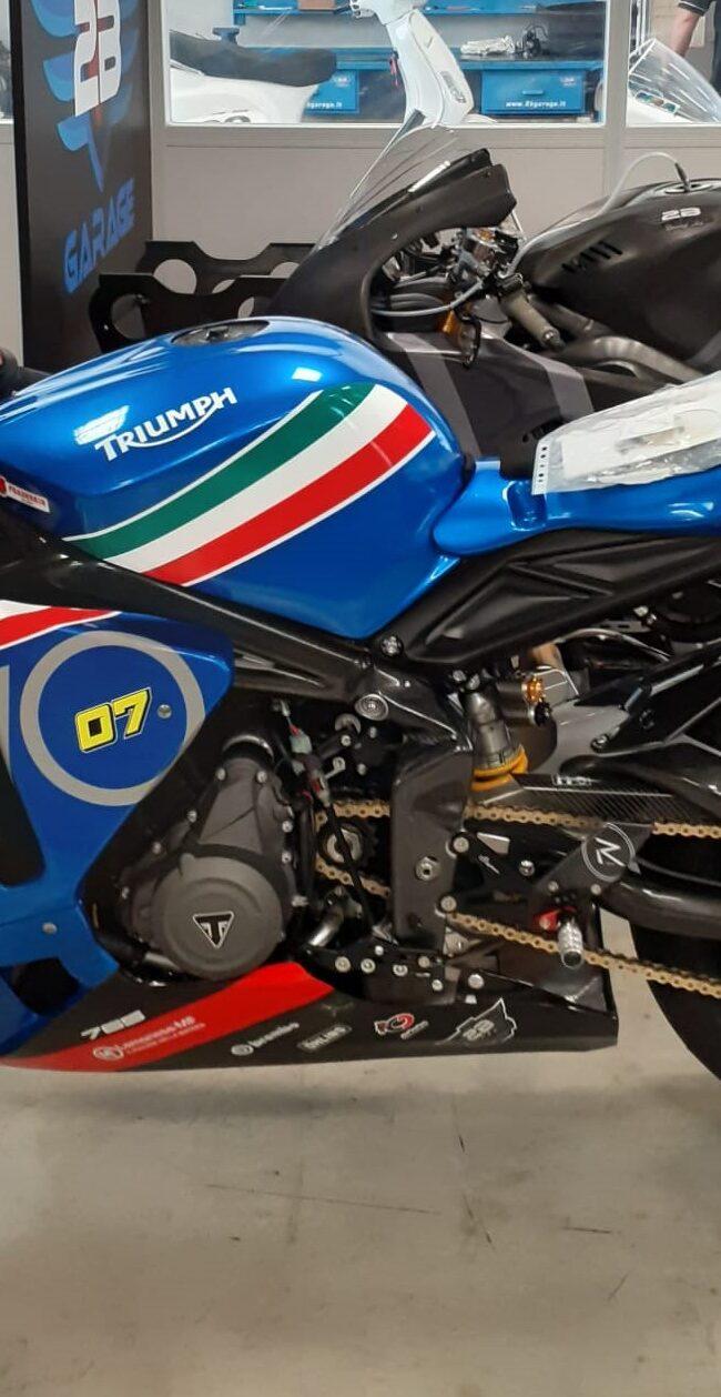 Triumph 765 Tributo Frecce Tricolore 2B Garage